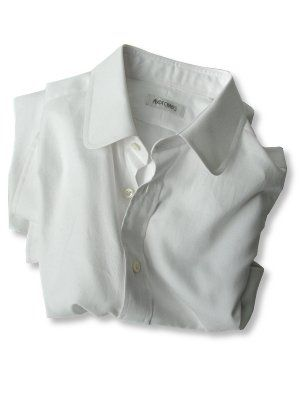 ascot chang white shirt