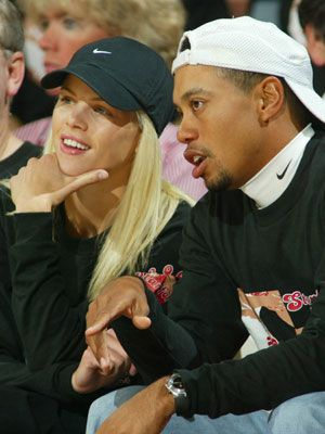 tiger woods and elin nordegen