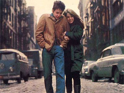 the freewheelin bob dylan album cover
