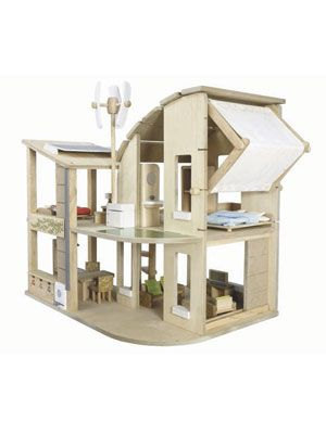 earth-friendly dollhouse