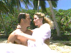 lovers kiss from cbs soap opera a guiding light