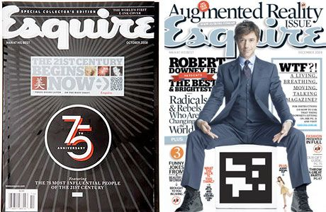 esquire augmented reality cover