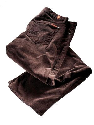 seven for all mankind brown cords pants