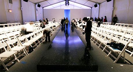 ny fashion week tents