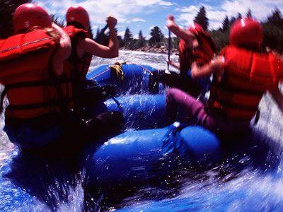 rafting in Salida Colorado