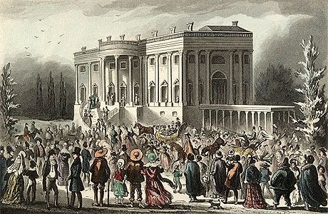 andrew jackson inauguration party