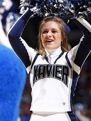 xavier cheerleaders