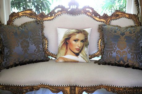 paris hilton pillow