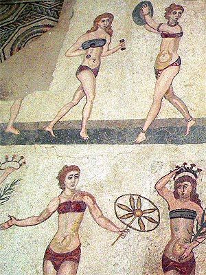 fake ancient bikinis