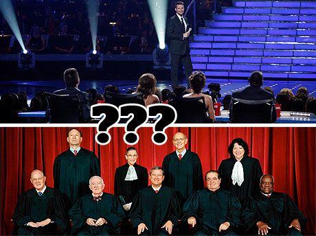 Who Said It? <i>Idol</i> Judge or Supreme Court Judge?