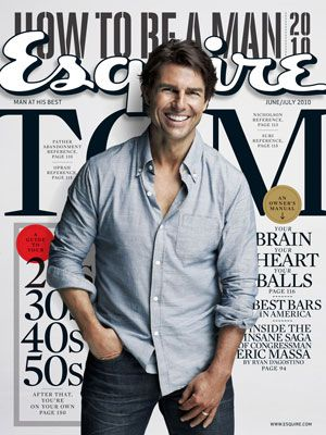 tom cruise esquire cover