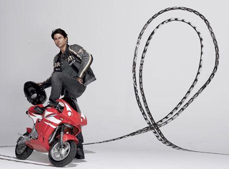 tom cruise motorbike