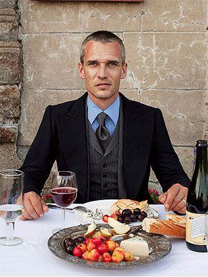 fine dining man
