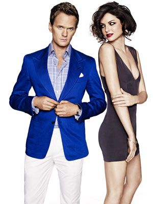 neil patrick harris blue blazer