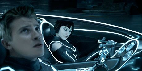 tron movie review 2010 tron legacy photos and review