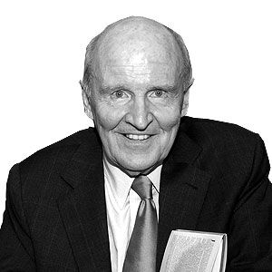 Jack Welch, former CEO, GE