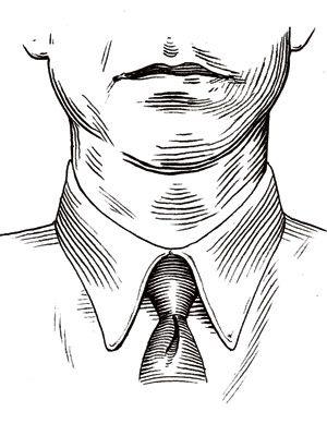 round face collar