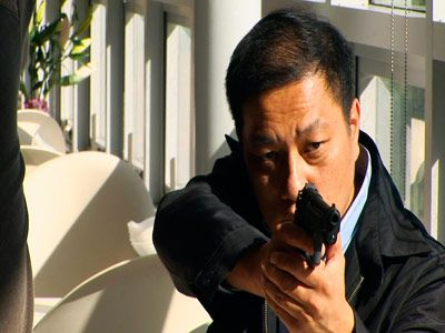 Still from <i>Wild Korea</i> (2005), a sixteen-minute video