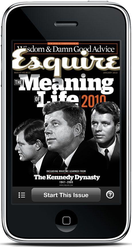Esquire iPhone App - Esquire Magazine iPhone Application
