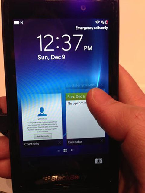 blackberry start screen new