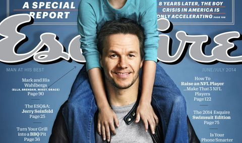 Mark Wahlberg Family Photos - Mark Wahlberg Fatherhood Story