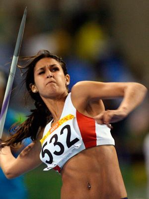 Leryn Franco, 26, Paraguayan Javelin Thrower