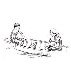 How to Flip a Capsized Canoe