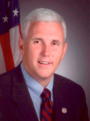 Rep. Mike Pence (R), Indiana