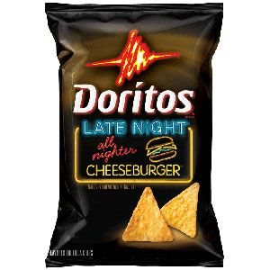 doritos cheeseburger flavor
