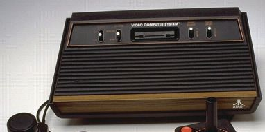 atari 2600 video game system package