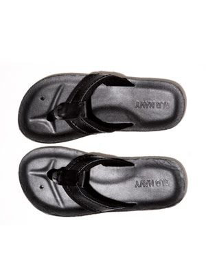 leather flip flops old navy