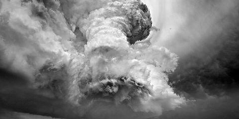 Daytime, Atmosphere, Monochrome photography, Monochrome, Atmospheric phenomenon, Black-and-white, Space, Geological phenomenon, Meteorological phenomenon, Wind,
