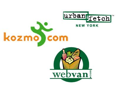 kozmo logo webvan logo urbanfetch logo