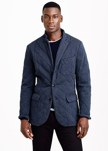 Quilting is Appearing on Everything From Jackets to Vest to T ... : quilted sport coat - Adamdwight.com