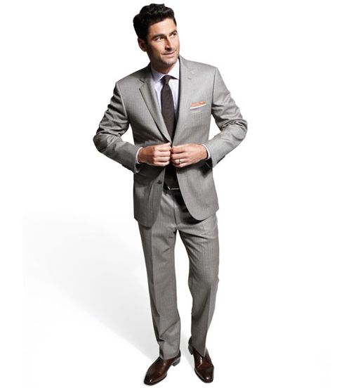 herringbone suit