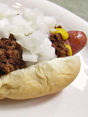 detroit coney hot dog