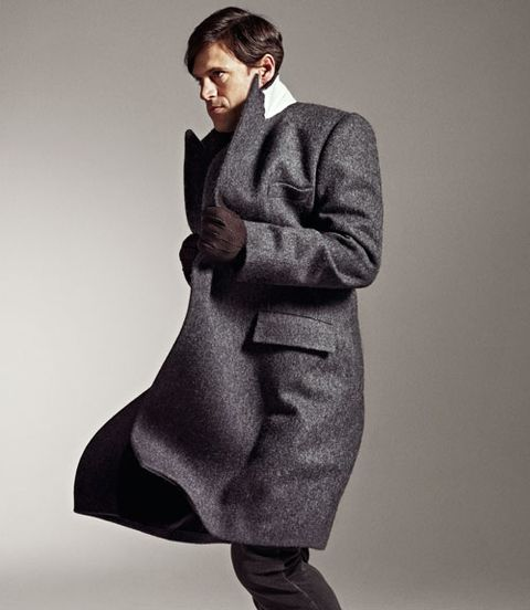 dries van noten wool coat