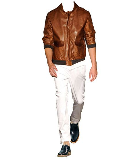 james dean leather bomber