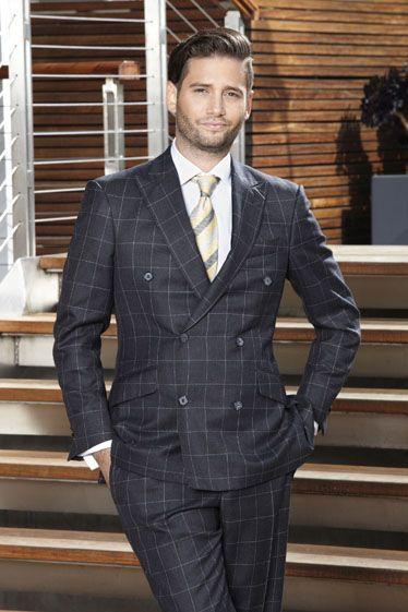 Clothing, Coat, Dress shirt, Collar, Shirt, Pocket, Outerwear, Standing, Formal wear, Suit trousers,