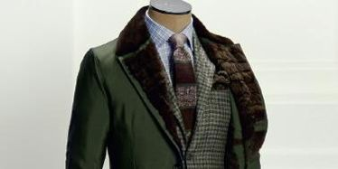 Clothing, Brown, Product, Collar, Dress shirt, Sleeve, Coat, Textile, Bag, Standing,