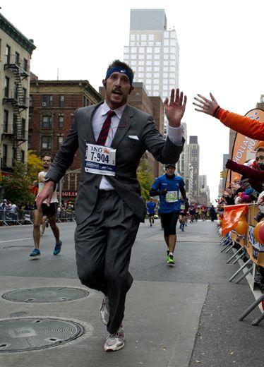 Footwear, Road, Running, Street, Long-distance running, Endurance sports, Tower, Athletic shoe, Pedestrian, Exercise,