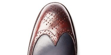 Brown, Shoe, Carmine, Oxford shoe, Maroon, Dress shoe, Tan, Leather, Material property, Synthetic rubber,