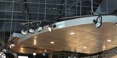Lighting, Retail, Clothes hanger, Ceiling, Fashion, Outlet store, Customer, Boutique, Light fixture, Market,