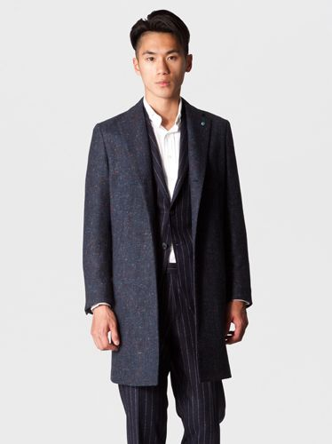 Clothing, Collar, Dress shirt, Coat, Sleeve, Trousers, Standing, Outerwear, Formal wear, Pocket,