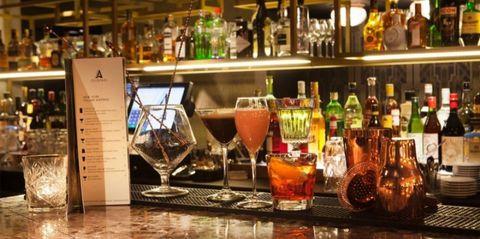 Drinkware, Barware, Glass, Drink, Alcohol, Alcoholic beverage, Bottle, Tableware, Glass bottle, Distilled beverage,