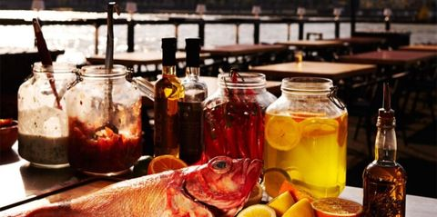 Mason jar, Preserved food, Drink, Food, Still life, Canning, Brunch, Ingredient, Tableware,