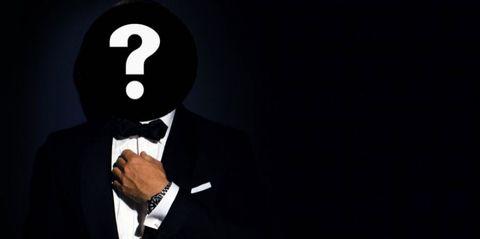 Finger, Formal wear, Collar, Suit, Blazer, Gesture, White-collar worker, Tuxedo, Cuff, Businessperson,