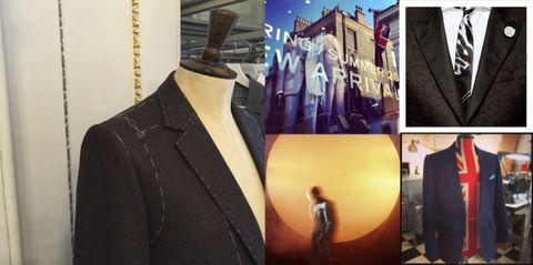 Collar, Coat, Outerwear, Formal wear, Suit, Blazer, Fashion, Button, Fashion design, Top,
