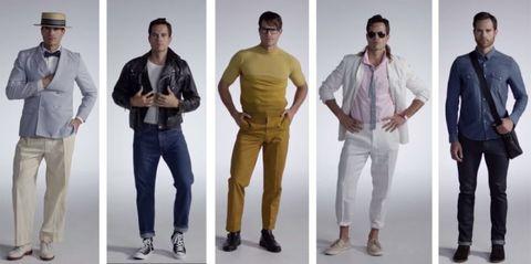 Footwear, Product, Dress shirt, Sleeve, Trousers, Collar, Shoulder, Standing, Textile, Shirt,