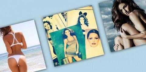 Eyebrow, Photograph, Black hair, Youth, Swimwear, Waist, Model, Abdomen, Undergarment, Barechested,